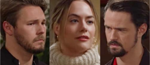Beautiful, trame al 27 marzo: Thomas minaccia di morte Liam, che chiede la mano ad Hope.