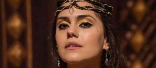 Shakia terminará morta em 'Gênesis'. (Reprodução/RecordTV)