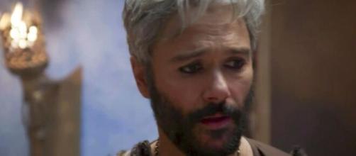 Terá se culpa após morte do filho em 'Gênesis' (Reprodução/Record TV)