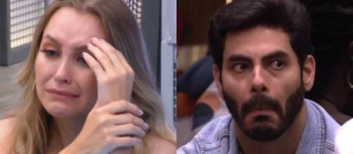 Carla Diaz e Rodolffo têm disputa acirrada no 'BBB21', aponta enquete UOL (Fotomontagem/Reprodução/Rede Globo)