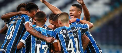 Grêmio deve avaliar nomes que seguem nos planos do clube, enquanto outros devem deixar a Arena (Lucas Uebel/Grêmio)