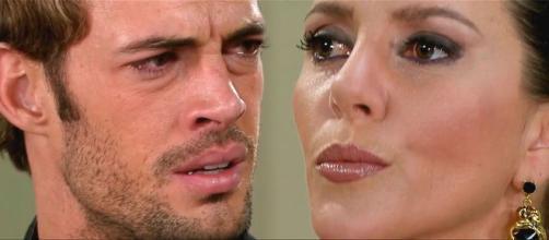Max finalmente conhece sua mãe (Fotomontagem/Reprodução/Televisa)