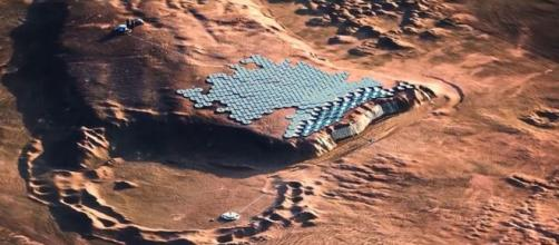 Nüwa, a city on Mars (Image source: Abiboo Studio/Facebook)
