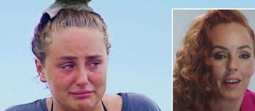 Rocío Flores llora en 'Supervivientes' y Rocía Carrasco habla en el documental de Telecinco (@carrillo_ramn)