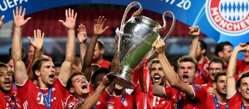 Photo officielle de la finale de la Ligue des champions 2020 - source : l'UEFA