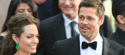Angelina Jolie y Brad Pitt (Flickr)