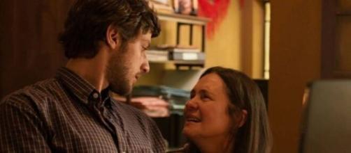 Danilo e Thelma em 'Amor de Mãe' (Reprodução/TV Globo)