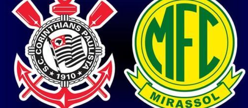 Jogo entre Corinthians e Mirassol será nesta terça (Fotomontagem/Eduardo Gouvea/Agência Foto 10)