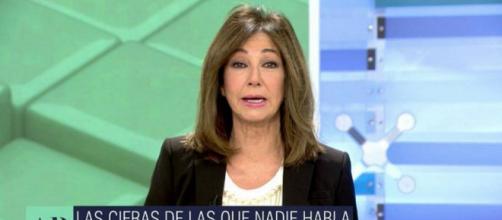 La presentadora Ana Rosa Quintana en su programa (@elprogramadear)