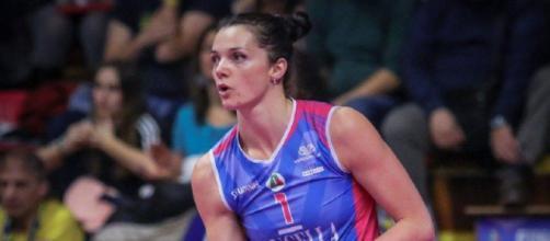 Serena Ortolani, attualmente in forza alla Bartoccini Fortinfissi Perugia.