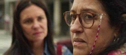 Thelma e Lurdes terão confronto em 'Amor de Mãe' (Reprodução/TV Globo)