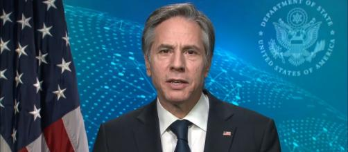US Secretary of State Anthony Blinken spoke out against China's treatment of Uyghurs (Image source: U.S. Department of State/YouTube)