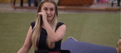 'BBB21': Carla Diaz é eliminada (Reprodução/TV Globo)