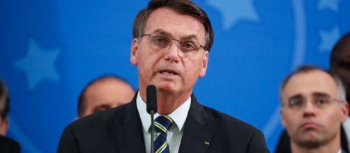 Bolsonaro faz pronunciamento em meio à crise da Covid-19 (Alan Santos/PR)