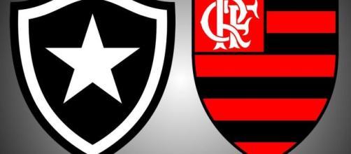 Botafogo e Vasco jogarão no Nilton Santos (Arte/Eduardo Gouvea)