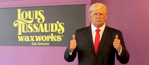 Donald Trump statue at Louis Tussaud's Palace of Wax in San Antonio Texas (Image source: Ripley's Believe It or Not!)
