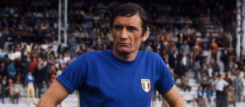 Gigi Riva, re dei bomber azzurri anche nelle qualificazioni ai Mondiali.