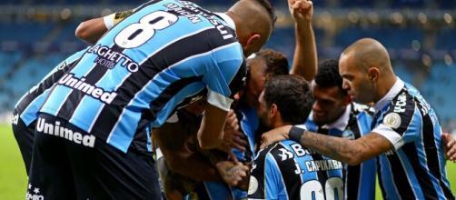 Grêmio mira reforços para o ataque (Lucas Uebel/Grêmio)