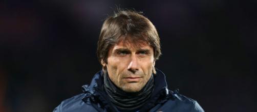 L'allenatore dell'Inter Antonio Conte pronto per il finale del campionato.
