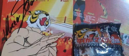 Merchandising ufficiale dell'Uomo Tigre.