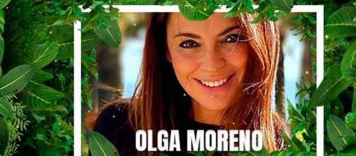 Olga Moreno en la publicidad de Mediaset de 'Supervivientes'.