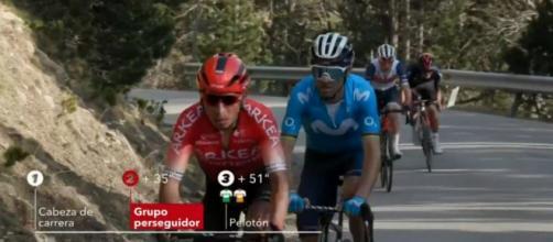 Quintana e Valverde alla Volta Catalunya
