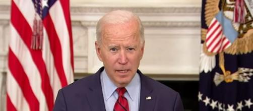 "Biden speaks on Boulder gun violence and need for ""common sense"" gun laws (Image source: CBS Newsq/YouTube)"