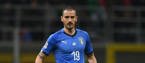 Bonucci ha raggiunto quota 100 presenze in Nazionale.