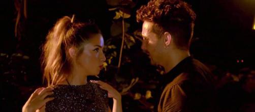 Lucía y Manuel volvieron a intimar tras dejar su relación en 'La isla de las tentaciones' (Twitter @Telecincoes)