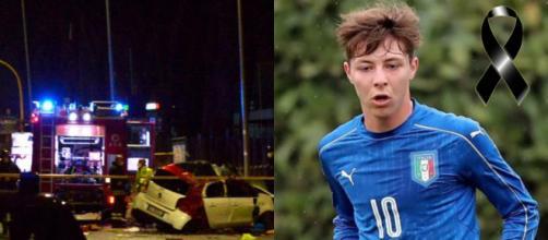 Roma, deceduto in un incidente Daniel Guerini: giocava nella Primavera della Lazio.