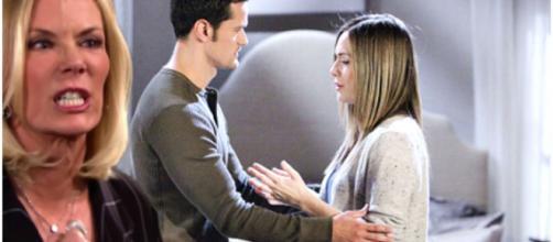 Beautiful trame Usa: Brooke vuole che Liam impedisca a Thomas di tornare con Hope.