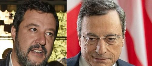 Botta e risposta a distanza tra Draghi e Salvini sulle zone gialle.