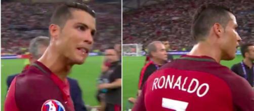 Cristiano Ronaldo motive ses coéquipiers - photo capture d'écran vidéo