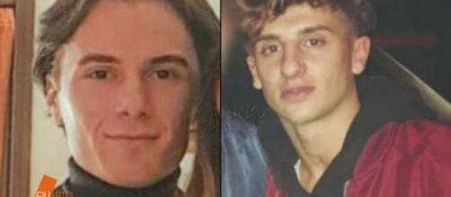 La scomparsa di Alessandro Venturelli (a destra), sarebbbe collegata a quella di Stefano Barilli: i due non si conoscevano.