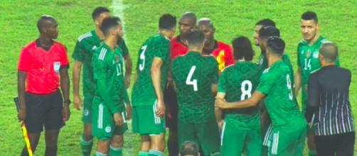 Les décisions arbitrales ont pesé lourd contre l'Algérie - photo capture d'écran photo Twitter