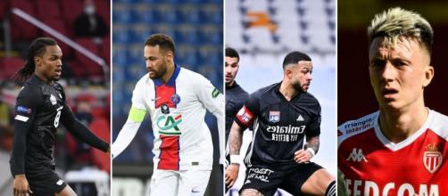 Les joueurs de la Ligue 1 - Source : Capture d'écran