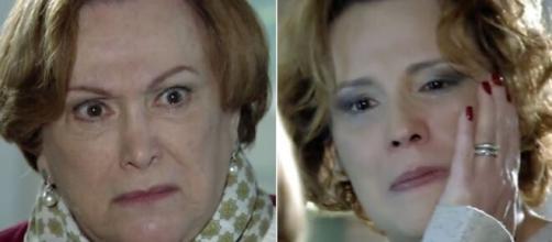 Iná e Eva em 'A Vida da Gente' (Foto: Globo)