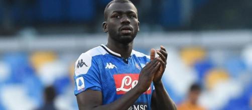 Koulibaly, difensore del Napoli.