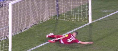 Le but refusé à Cristiano Ronaldo (Credit : W9)