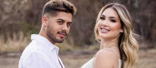 Zé Felipe e Virgínia Fonseca se casam (Arquivo Blasting News)