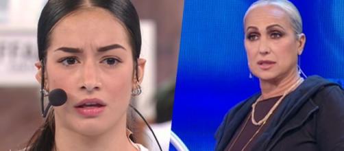 Amici, Rosa difesa dall'ex Filippo: 'La maestra Celentano può distruggerle la reputazione'.
