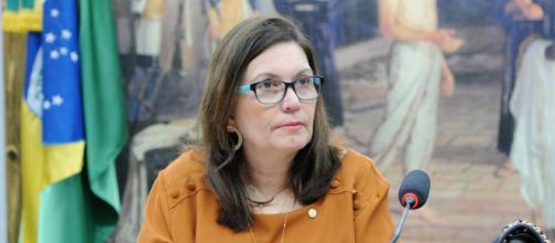 Bia Kicis é acusada de incentivar motim da PM bahiana (Cleia Viana/Câmara dos Deputados)