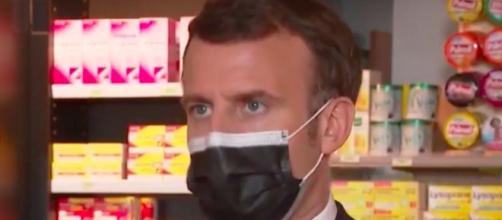 Emmanuel Macron pourrait annoncer un reconfinement strict - Source : Capture d'écran Youtube