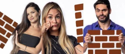 Enquete UOL indica Sarah eliminada do 'BBB21' (Fotomontagem/Reprodução/Rede Globo)