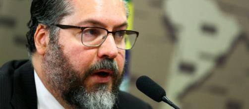 Ernesto Araújo é um dos que deixaram o governo federal na segunda-feira (29) (Marcelo Camargo/Agência Brasil)