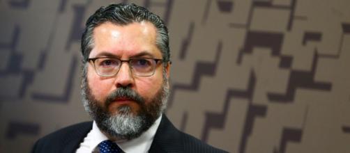 Ernesto Araújo pede para deixar o governo federal (Marcelo Camargo/Agência Brasil)