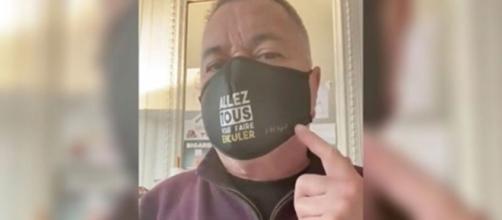 Jean-Marie BIgard vend des masques et fait le buzz - Photo capture d'écran video Twitter
