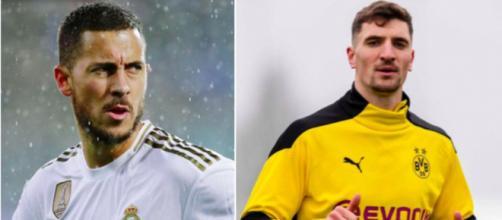 Thomas Meunier Trolle Eden Hazard après sa blessure - Photo captures d'écran Instagram Meunier / Hazard
