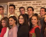 Los concursantes de 'OT 1' se despiden de Álex Casademunt (RTVE)