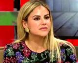 Mónica Hoyos, este miércoles en 'Sálvame' (Twitter @Monicahoyos1501)
